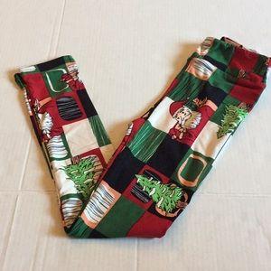 Lularoe kids l/xl holiday leggings